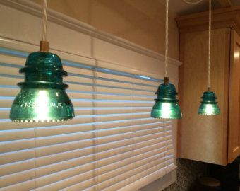 vintage pendant light hand designed by Happydoglights on Etsy