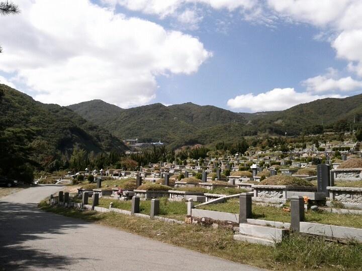 2012-09-29, 양산 신불산 공원묘지