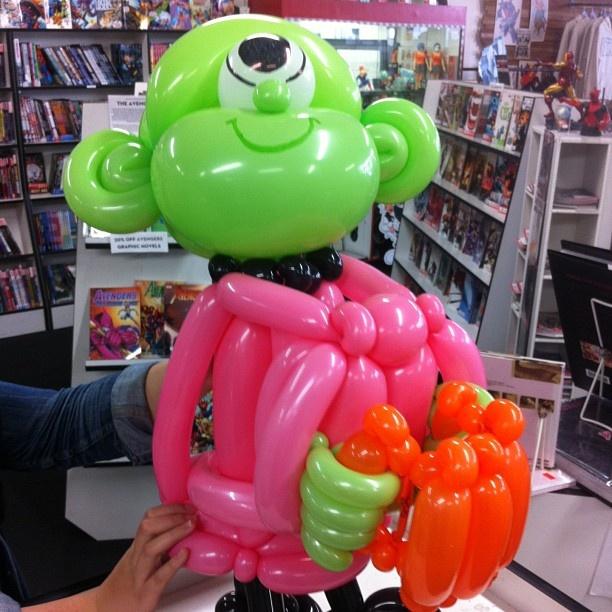 Balloon Melt just landed at Meltdown thanks to @SuperInflated #superinflated #balloons - @meltdowncomics- #webstagram