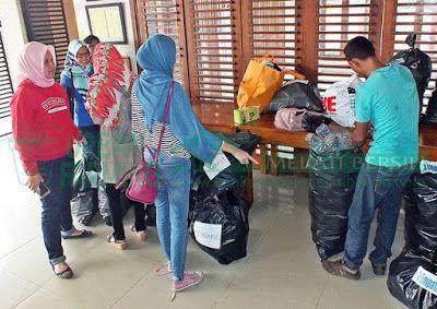Bank Sampah Melati Bersih: Penimbangan Sampah Perdana di Bank Sampah SD Budi ...