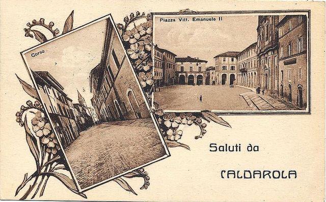 Greetings from Caldarola ( MC ) #ebanarte