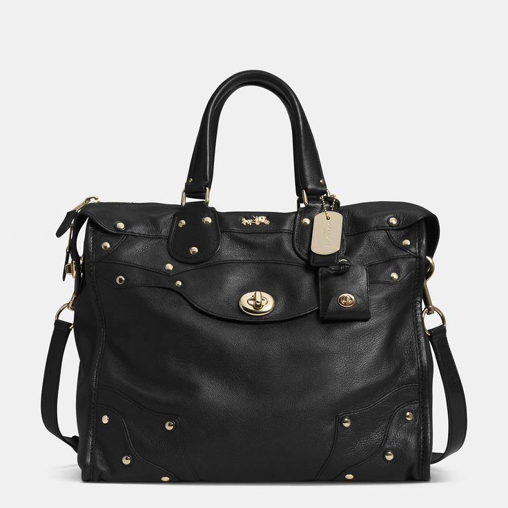 f02dae8afb I am not a fan of Coach bags but something about this one is very  appealing. COACH Rhyder 33 Satchel in Soft Grain Leather