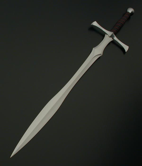 Leafblade Broadsword. I like the simplicity and sweeping lines.