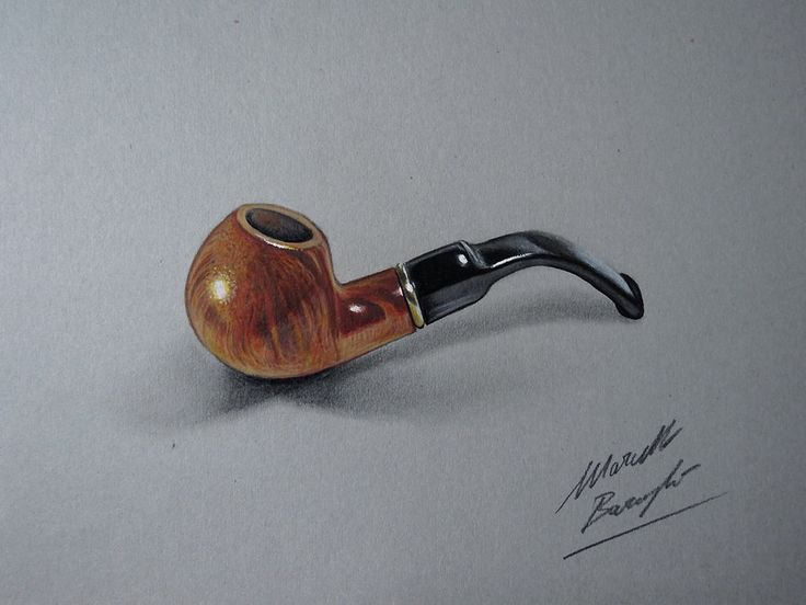 Drawing and coloring a Pipe by marcellobarenghi.deviantart.com on @deviantART