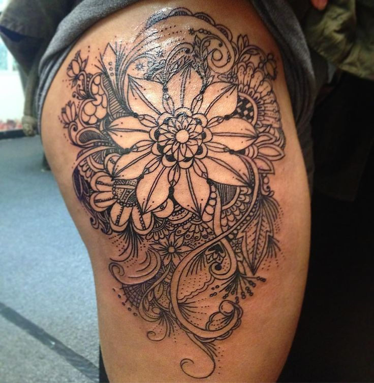 Eccentric Tattoos 627 best Hip Ta...