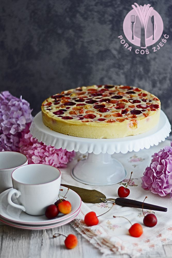 Sweet cherry clafoutis