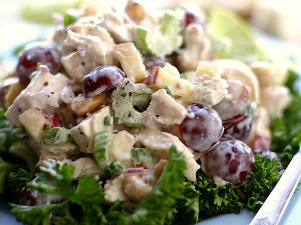 Blogger Brooke McLay from Cheeky Kitchen shares a favorite recipe. The flavors and textures of this chicken salad are splendid. Serve on top of chopped Bibb lettuce, croissants, or crusty French bread for a truly delicious brunch, lunch, or picnic dinner.