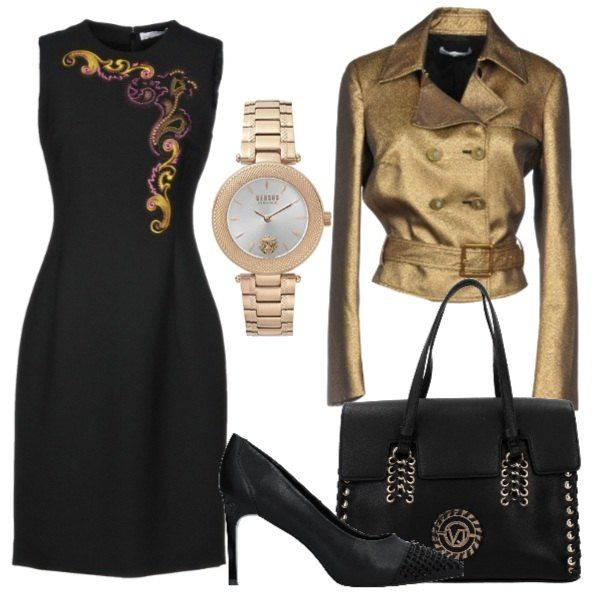 giacca donna con rose versace
