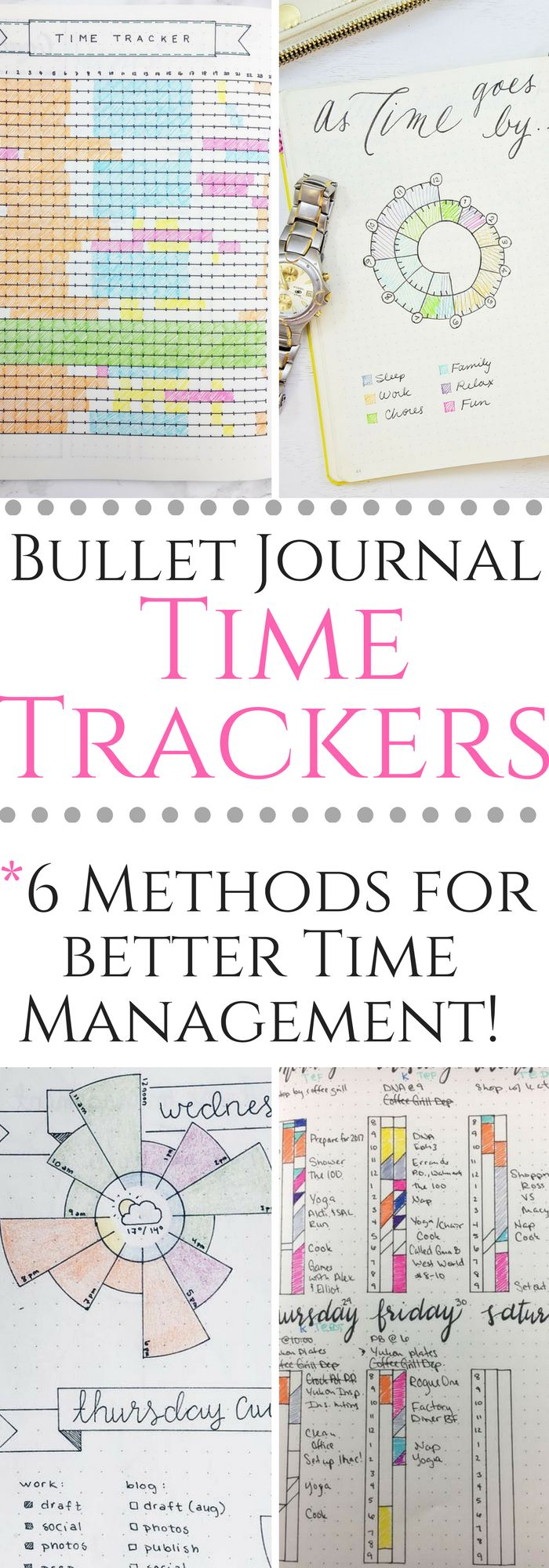 Bullet Journal Trackers for better time management!