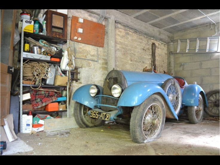Barn Find Bugatti Set To Fetch Up GBP180000