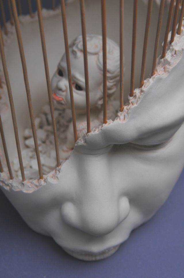 """""""Until the end of this month Johnson Tsang will be exhibiting his amazing ceramic sculptures at Gyeonggi International Ceramic Biennale 2015."""""""