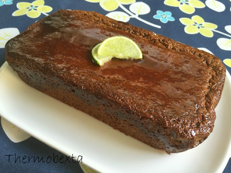 Thermobexta's Sticky Lime and Coconut Cake
