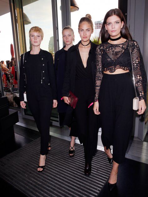GNTM-Gewinnerin Kim feierte mit Schwester Nina, Elena C und Vorjahressiegerin…