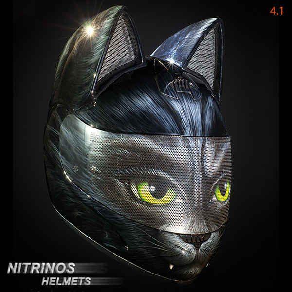 ロシアが作った「ネコ耳ヘルメット」が超絶かわいい