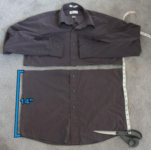 DIY: Mens Shirt to Jumpsuit Romper