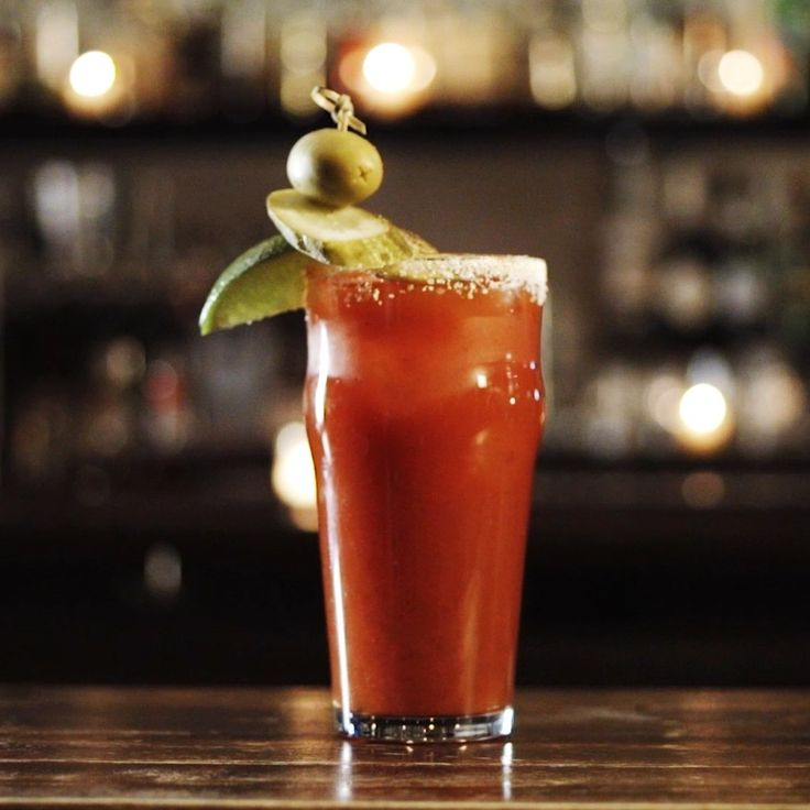 Tequila shoulders out vodka in this south-of-the-border spin on the brunch-favorite Bloody Mary. Laced with two brands of hot sauce, the Bloody Maria gains extra kick from a hefty dose of horseradish and is generously garnished with a cucumber spear, jalapeño slices and queso fresco.