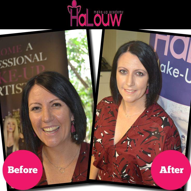 #Makeup #Design #beforeandafter for Halouw Makeup Academy #PR #Media