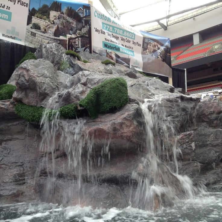 24 best backyard waterfall ideas images on pinterest rocky waterfall custom artificial rock waterfalls vancouver bc canada garden waterfalls do it yourself small backyard waterfalls how to build a waterfall solutioingenieria Images