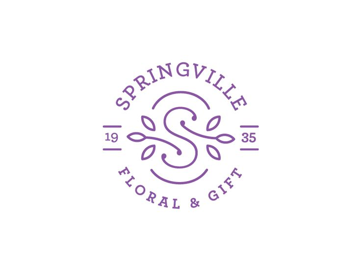 A mark I've been working on for a small Flower shop in Springville, UT.