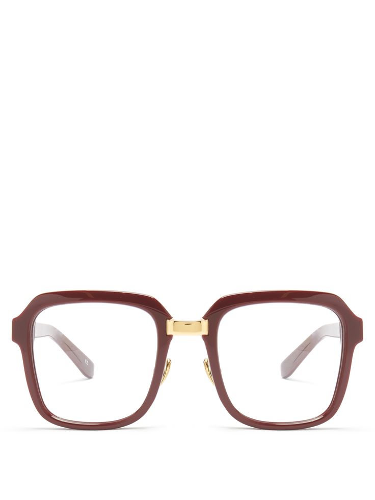 Click here to buy Kaleos Smiley square-frame glasses at MATCHESFASHION.COM