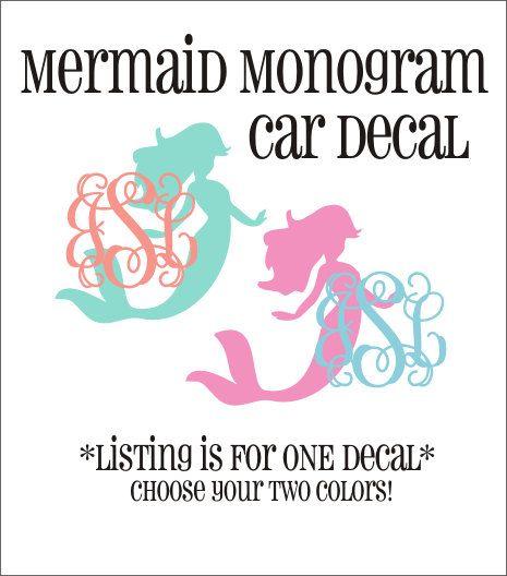 Best Cricut Ideas Images On Pinterest Cricut Vinyl Car - Mermaid custom vinyl decals for car