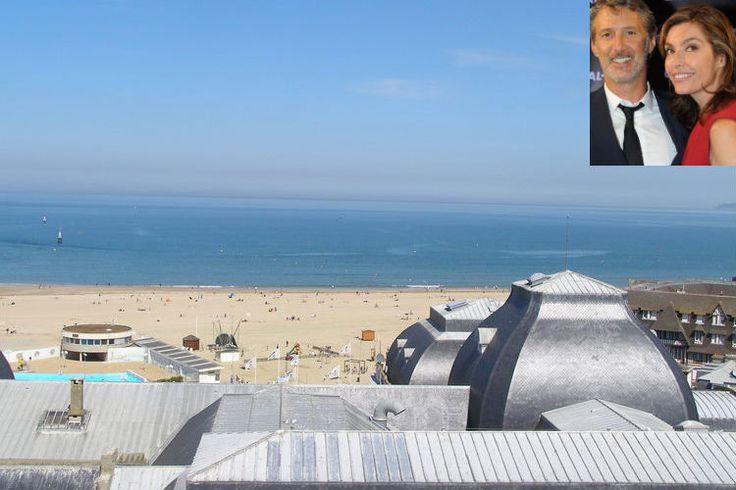 Daphné Roulier et Antoine de Caunes à Trouville-sur-Mer : Où les stars de la télé partent-elles en vacances? - Linternaute