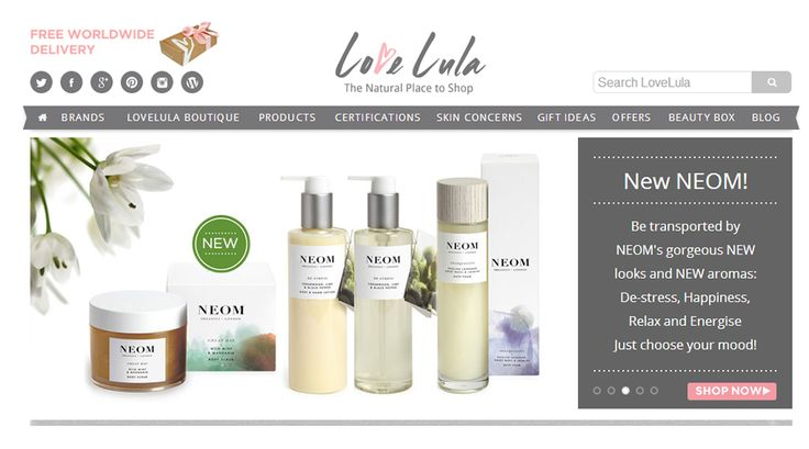 best online organic beauty stores, big green smile, ecodiva beauty, eluxe exclusives, love lula, halal cosmetics, ecocentric