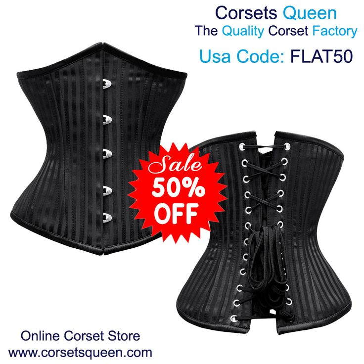 Arleen Waist Training Corset #Corset Black Underbust corset, fashion black corset, black corset for sale, black corset for plus size,