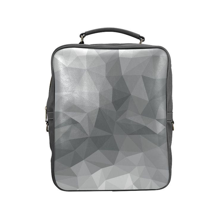 Tote Bag - Abstract Polygons Grey by VIDA VIDA bC3W00