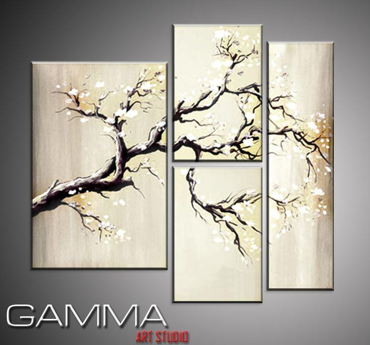 cuadros decorativos modernos tripticos sobre bastidor