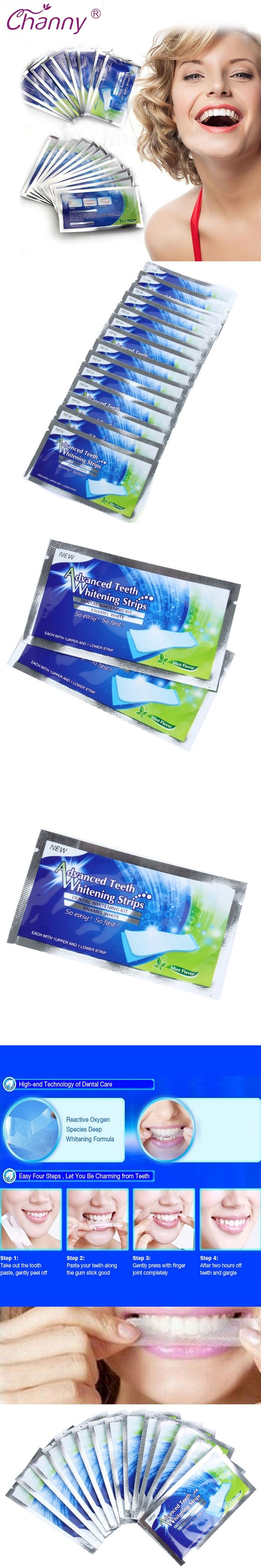 28 Pcs/Lot Teeth Whitening Strips Gel Care Oral Hygiene Clareador Dental Bleaching Tooth Whitening Bleach Teeth Whiten Tools