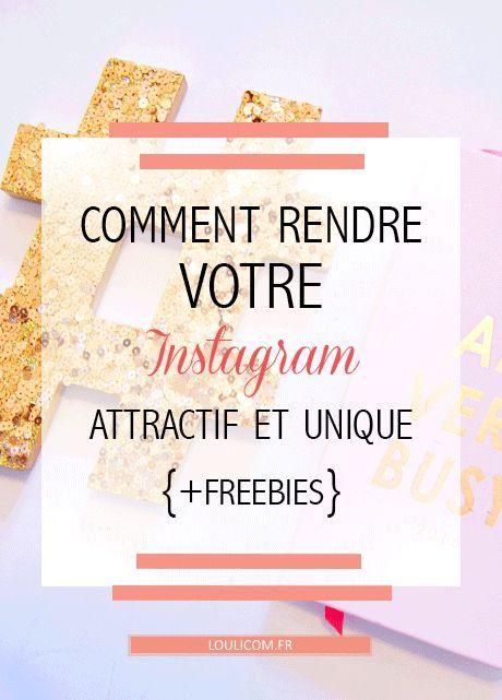 Comment se démarquer sur Instagram? Comment rendre son compte attractif et unique? retrouvez des conseils Instagram pour cartonner sur l'application