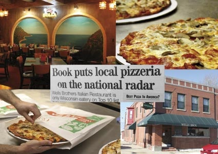 Wells Brothers - Racine, WI  This is my most favorite pizza, hands down, ever…