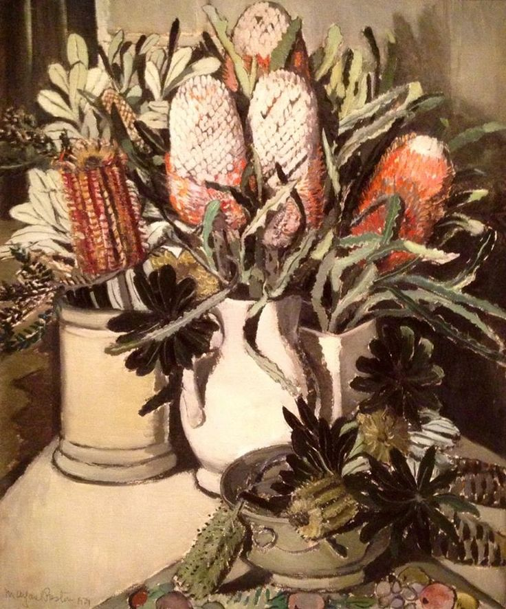 Margaret Preston - Banksias
