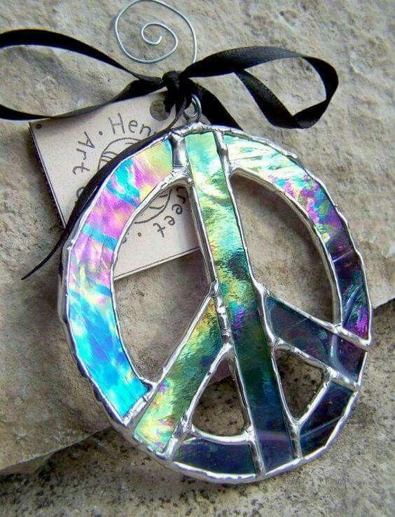 Peace sign idea