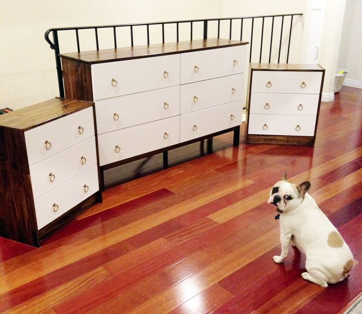 painted ikea tarva dressers - Google Search