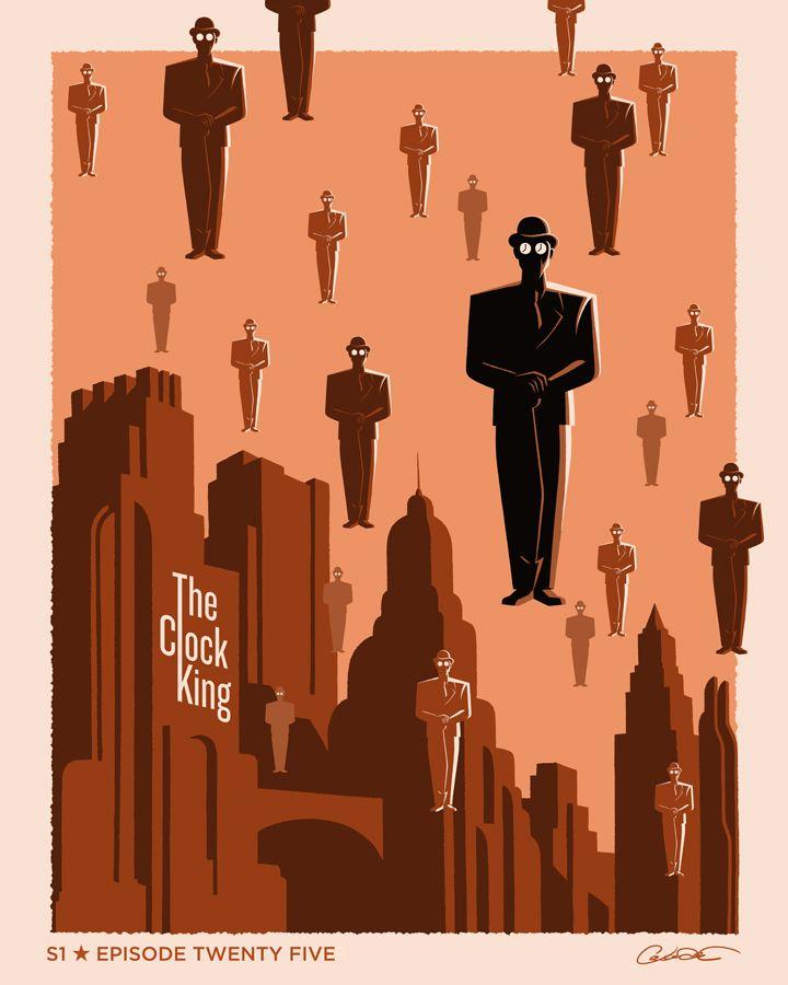 "Batman The Animated Series Episode 25 ""The Clock King"" - George Caltsoudas"