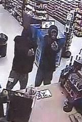 ATTEMPT TO IDENTIFY KANGAROO EXPRESS ROBBERY Port Royal Police is seeking assistance in identifying the pictured individuals who robbed the Kangaroo convenience store at 1810 Ribaut Road on September 20, 2014 at 0252 hours. Two subjects entered the business while a third subject stood guard at the front door.