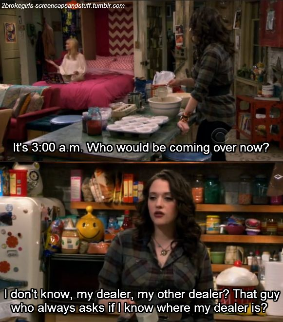 2 broke girls funny | Photo