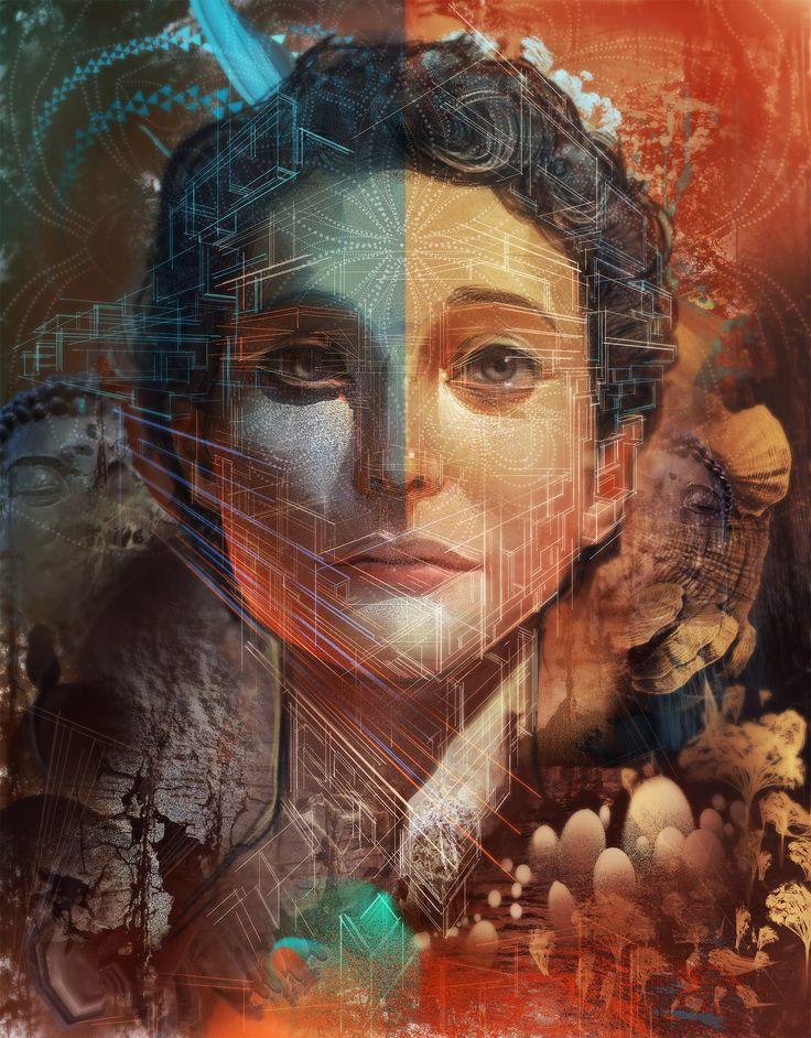 android jones | android jones – beauty in perspective
