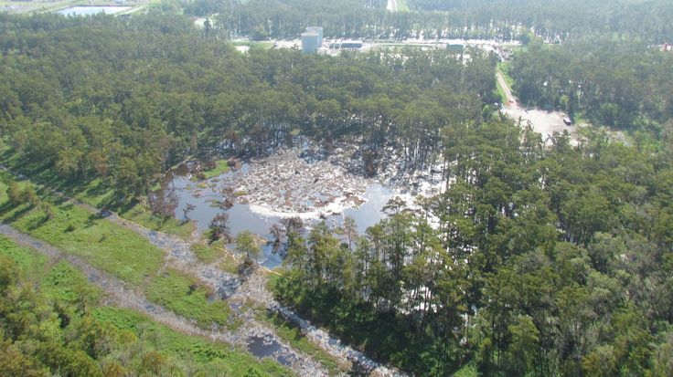Bayou Corne/Grand Bayou Sinkhole | Assumption Parish, Louisiana.  Why isn't this in the national news?  What are they trying to hide?