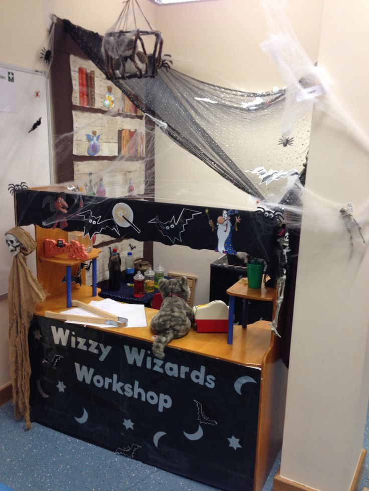 Wizards workshop role play area