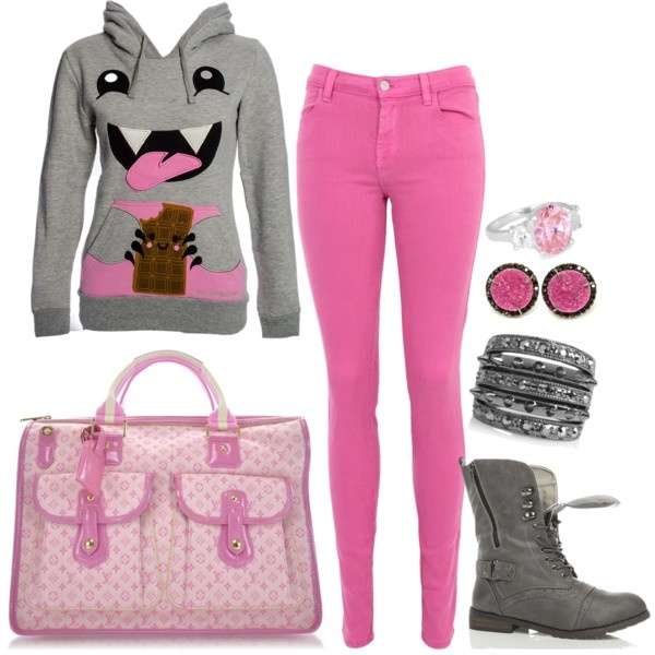 """""""Louis Vuitton - monster pink"""" by Ashley B"""