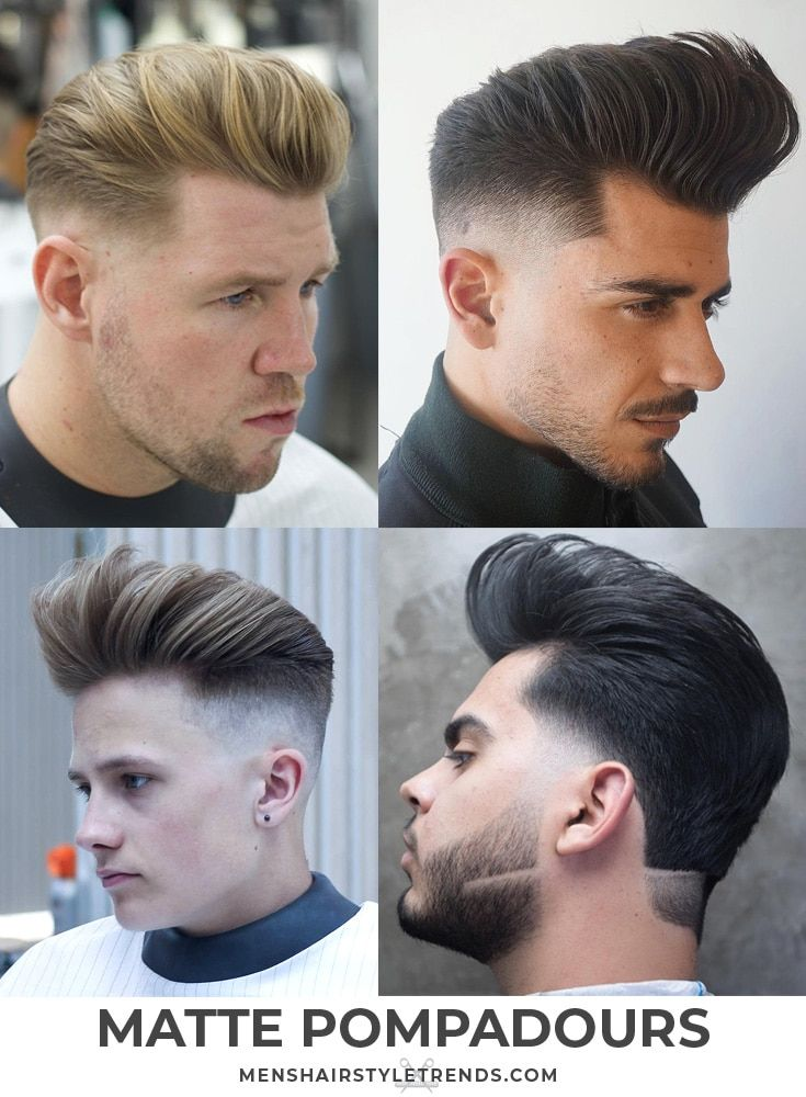 70 Pompadour Haircuts Ultimate Guide To Classic Modern Styles 2020 Pompadour Haircut Cool Hairstyles For Men Mens Hairstyles Short