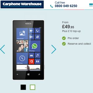 Nokia Lumia 520 now £50: Best Windows Phone price ever | NokNok.tv