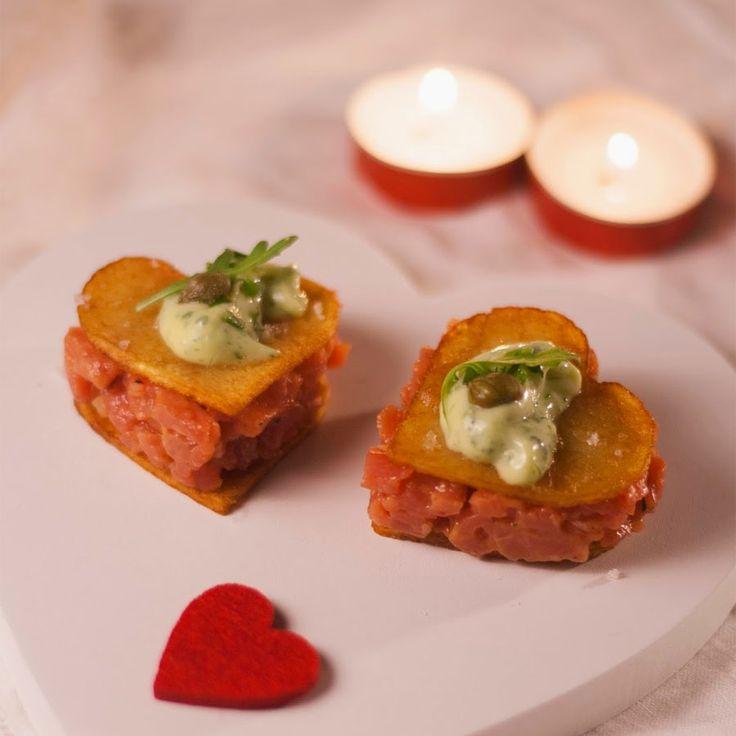 Fingerfood van verse steak tartaar recept