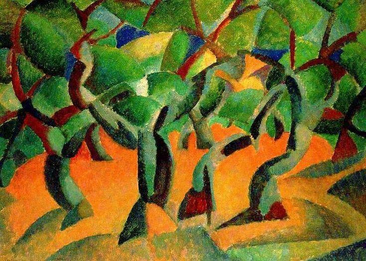 The Athenaeum - Olive Grove (Leo Gestel - 1914)