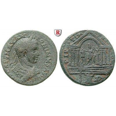 Römische Provinzialprägungen, Phönizien, Tyros, Elagabal, Bronze 218, f.ss: Phönizien, Tyros. Bronze 30 mm 218. Drapierte Büste r.… #coins