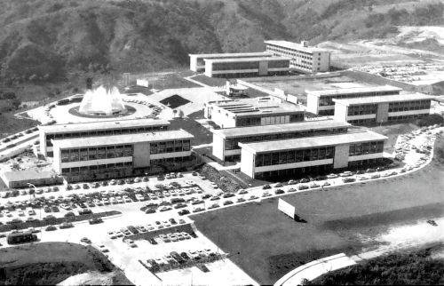 Universidad de Anahuac, av. Universidad Anáhuac, Lomas Anáhuac, Huixquilucan, Estado de México, Mexico 1965 Arq. Imanol Ordorika University of Anahuac, Lomas Anahuac, Huixquilucan, State of Mexico, Mexico 1965
