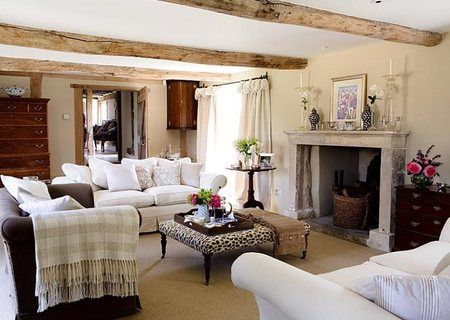 english country decorating/images | Eclectic country style - Country cool décor